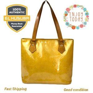 🌻💯Louis Vuitton Shoulder bag Bag Houston Yellow